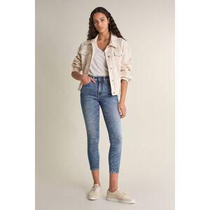 Jeans Push In Secret Glamour cropped com bordados