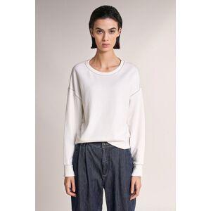 Sweatshirt com cordão metalico