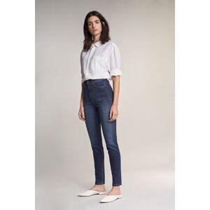 Jeans colette skinny em denim escuro