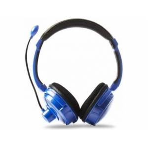 4gamers Auscultadores Gaming PRO4-40 Stereo Azul