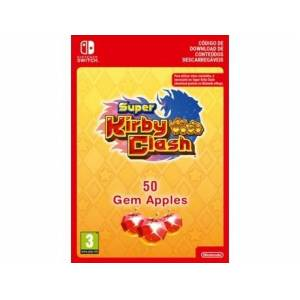 Nintendo Cartão Switch Super Kirby Clash - 50 Gem Apples (Formato Digital)