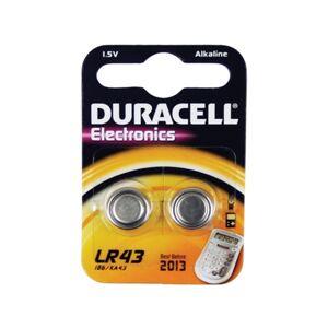 Pilhas Não Recarregáveis DURACELL LR 43 B2 (2 unidades)