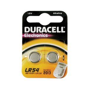 Pilhas Não Recarregáveis DURACELL LR 54 B2 (2 unidades)