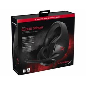 Auscultadores Gaming HYPER X by Kingston Cloud Stinger Core em Preto
