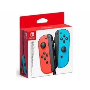 Pack 2 Comandos Joy-Con Nintendo Azul Néon/Vermelho Néon