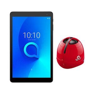 Bundle Tablet ALCATEL 1T (10.1'' - 1 GB RAM - 16 GB - Wi-Fi - Preto) + Coluna Vermelha