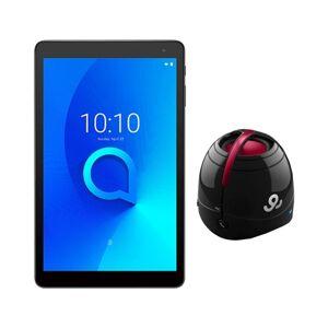 Bundle Tablet ALCATEL 1T (10.1'' - 1 GB RAM - 16 GB - Wi-Fi - Preto) + Coluna Preta