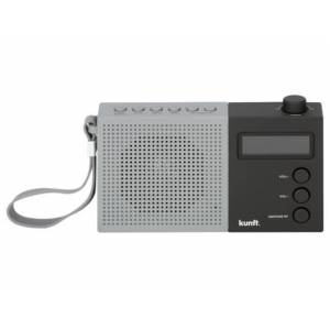 Rádio Portátil KUNFT KPR3002 BK