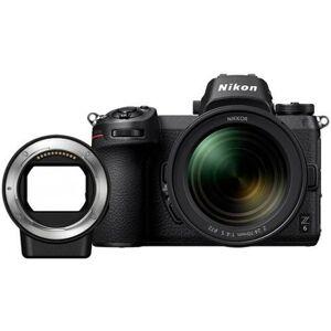 Kit Máquina Fotográfica Mirrorless NIKON Z6 + 24-70mm (24.5 MP - Sensor: Full-Frame - ISO: 100 - 51200)