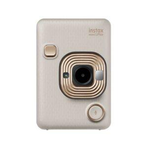 Máquina Fotográfica Instantânea Instax Mini Li Play Dourado