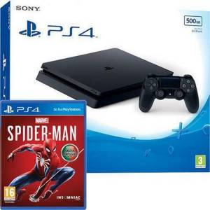 Sony CONSOLA PS4 500GB + SPIDERMAN