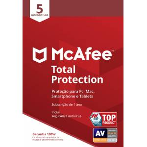 MCAFEE PROGRAMA PC MCAFEE TP 5 DEVICES