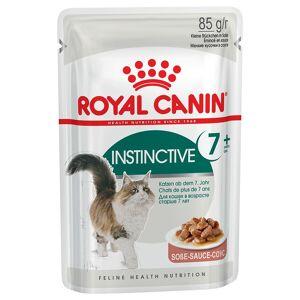 Royal Canin 24x85g Royal Canin Instinctive +7 em molho
