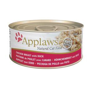 Applaws 2kg Senior com frango Applaws + 6x70g latas