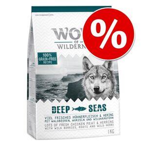 Wolf of Wilderness ração 1 kg a preço especial! - Sunny Glade com veado