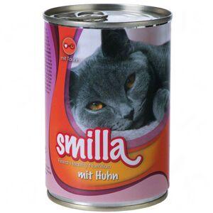 Smilla 20x400g Smilla pedaços de mimos com salmão