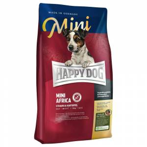 Happy Dog Supreme Sensible 2x4kg Happy Dog Supreme Mini África ração