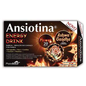 PhytoGold Ansiotina Energy Drink 20 Ampolas