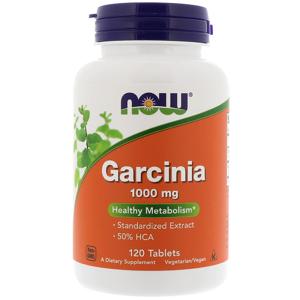 Now Garcinia 1000mg 120 Comprimidos