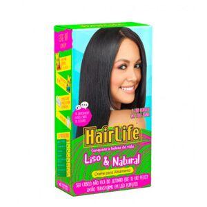 Novex Hair Life Kit de Alisamento Liso & Natural