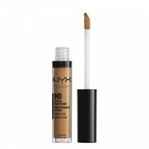 NYX Professional Makeup NYX HD Photogenic Concealer Corretor Acabamento Natural HD - Nutmeg 3g