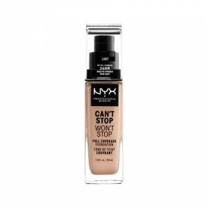 NYX Professional Makeup NYX Can't Stop Won't Stop Base - Light 30ml