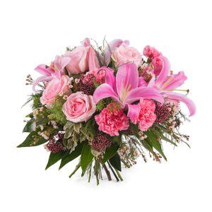 Interflora Ramo Flores Mistas com Rosas e Liliuns