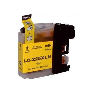 """""""Tinteiro Brother Compatível LC225 XL (V3) Amarelo"""""""