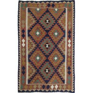 Nain Trading Tapete Oriental Kilim Maimane 251x161 Brown/Dark Green (Lã, Afeganistão, Mão-atada)