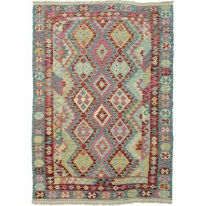 Nain Trading Tapete Atado à Mão Kilim Afegão Heritage 186x129 Light Blue/Pink (Lã, Afeganistão)