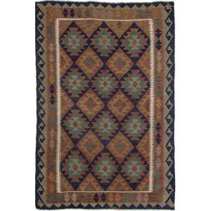 Nain Trading Tapete Oriental Kilim Maimane 239x163 Brown/Rust (Lã, Afeganistão, Mão-atada)