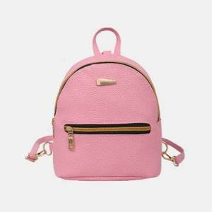 Women's Backpack Solid Preppy Chic Mini Bag