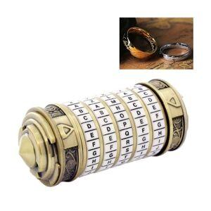 Código Brinquedos Metal Cryptex Locks Presentes De Casamento Presente De Dia Dos Namorados Senha Presente