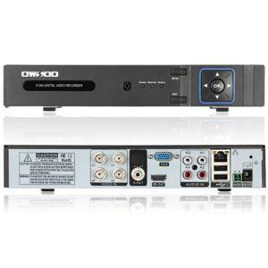 1080N(960*1080) total OWSOO 4CH canal AHD DVR HVR NVR h. 264 HD P2P nuvem rede Onvif Digital Video Recorder + HDD de 1TB suporte Audio Record telefone controle Motion deteção E-mail alarme PTZ para sistema de vigilância da câmera de segurança CCTV