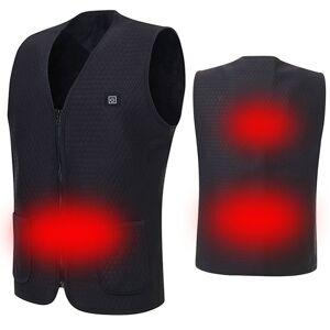Fonte de Alimentação elétrica USB Colete Aquecido Quente Jaqueta de Aquecimento Inteligente Casaco de Corrida Melhor Para O Inverno
