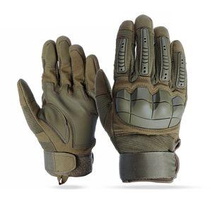 Tela sensível ao toque Luvas de Dedos Completos Da Motocicleta Militar Tactical Airsoft Juntas Duro Ao Ar Livre