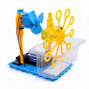 Pequeno Hammer STEAM DIY Bubble Blister Robot Machine Kit Educativo