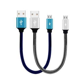 Bakeey 3A Micro USB Trançado Rápido Cabo De Dados De Carregamento 28 cm Para Xiaomi Redmi Note 5 S7 Edge S6