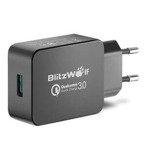 [Qualcomm Certificado] BlitzWolf® BW-S5 QC3.0 18W Carregador USB Adaptador UE com Power3S Tech