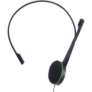 Microsoft xbox one chat headset auscultador com microfone