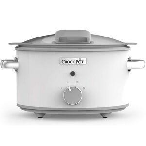 Crock-pot csc038x duraceramic olla de cocción lenta 4.5l blanca