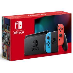 Nintendo Switch Azul Neón/Vermelho Neón V2