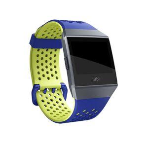 Fitbit Bracelete Sport Perfurada Azul/Amarela Pequena para Ionic