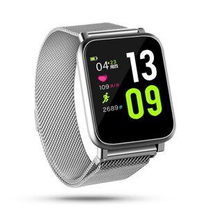 Fierro Yoss Smartwatch IPS Multitouch IP67 Prateado