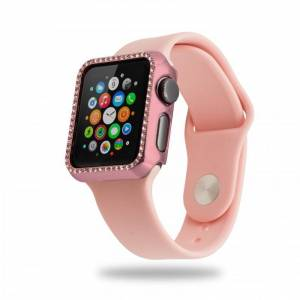 Unotec Full Protect Diamond Rosa Dorado para Apple Watch 40mm