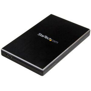 """Startech Caixa SSD 2.5"""" USB 3.1 Preta"""