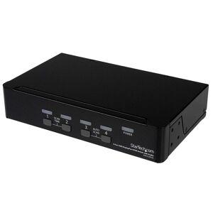 Startech Comutador Switch KVM 4 Portas DisplayPort com HUB USB