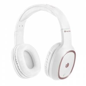 NGS Artica Pride White Auriculares Bluetooth com Microfone
