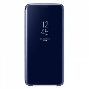 Samsung EF-ZG960 Clear View Standing Cover Azul para Samsung Galaxy S9