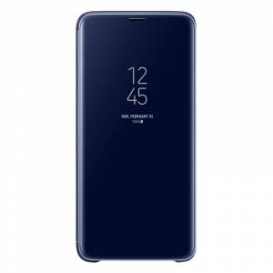 Samsung EF-ZG965 Clear View Standing Cover Azul para Samsung Galaxy S9+